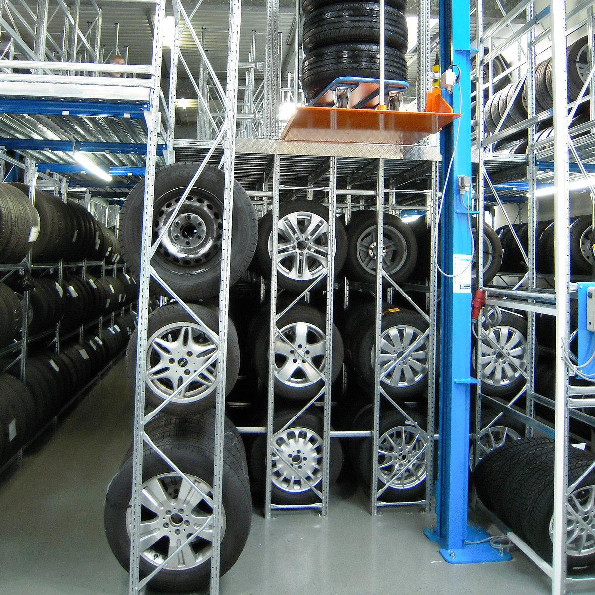 Dækreoler til dækfirmaer og autoværksteder