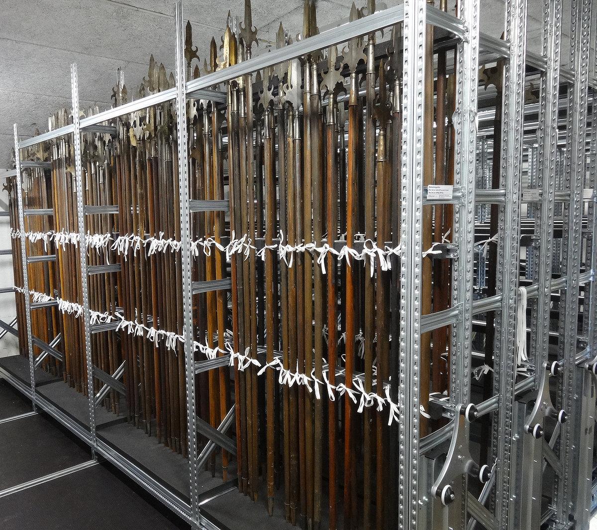 Lagerreoler: Opbevaring af stagevåben Nationalmuseet
